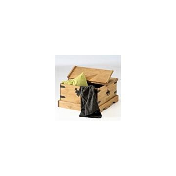 Mexico Möbel Truhentisch Couchtisch TEQUILA, Kiefer massiv, gewachst -