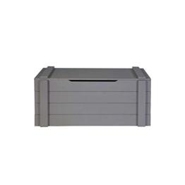 Truhe in Grau aus Holz Pharao24 -